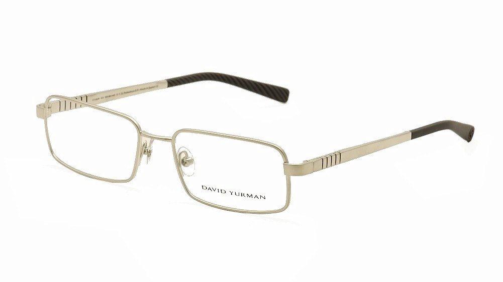Image of David Yurman Eyeglasses Phantom DY619 DY/619 Rimless Optical Frame - Grey - Lens 55 Bridge 18 Temple 140mm