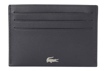 Lacoste Men's Fitzgerald Genuine Leather Card Holder Wallet