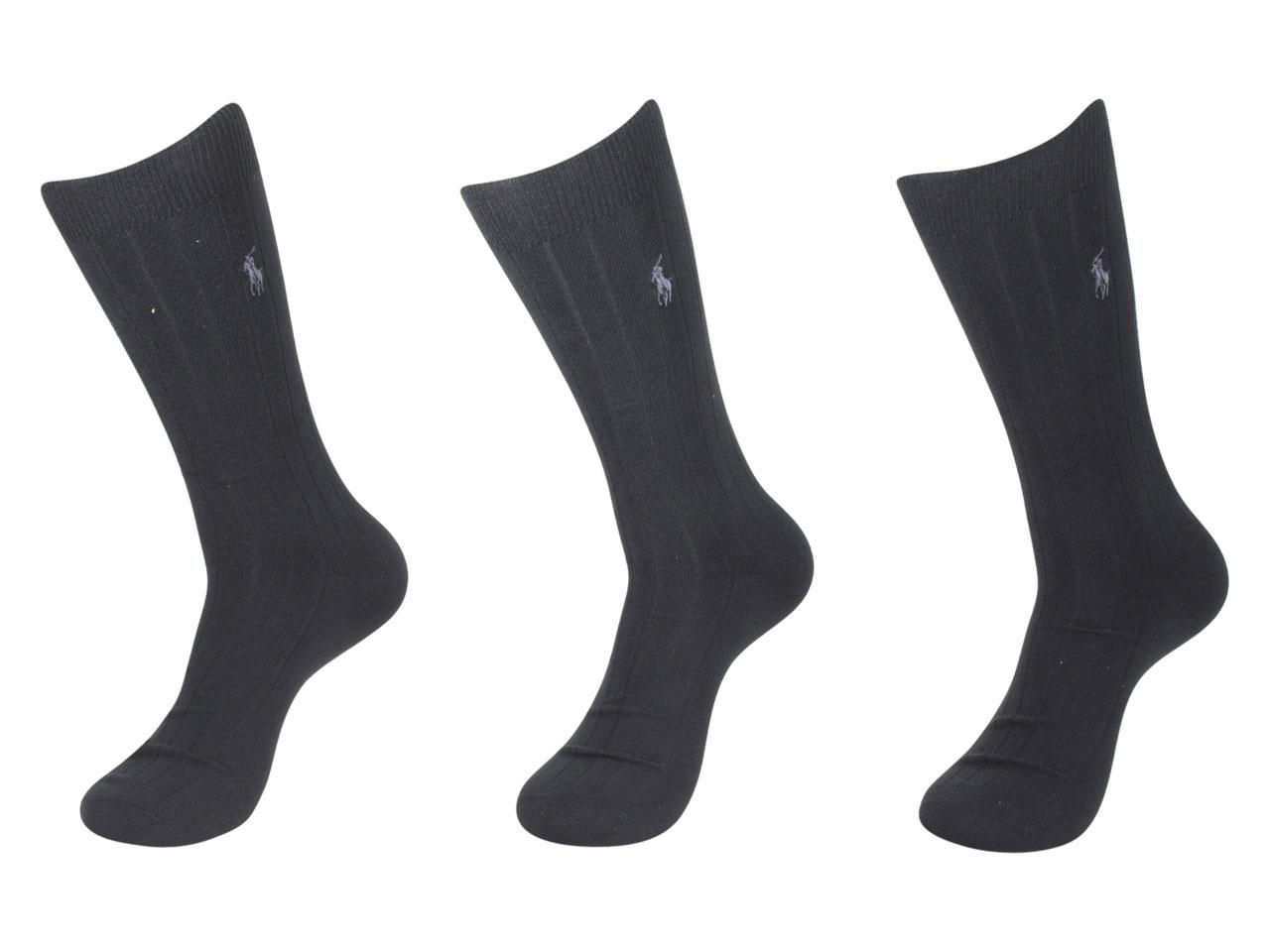 Polo Ralph Lauren Men s 3-Pairs Super Soft Dress Socks 4c00f9fb81a7