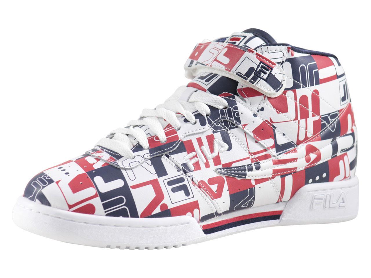 8fd671af2e Fila Men's F-13-Archive-Print Sneakers Shoes