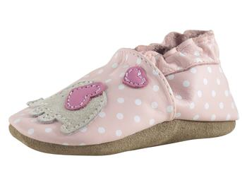Robeez Soft Soles Infant Girl's Little Peanut Shoes