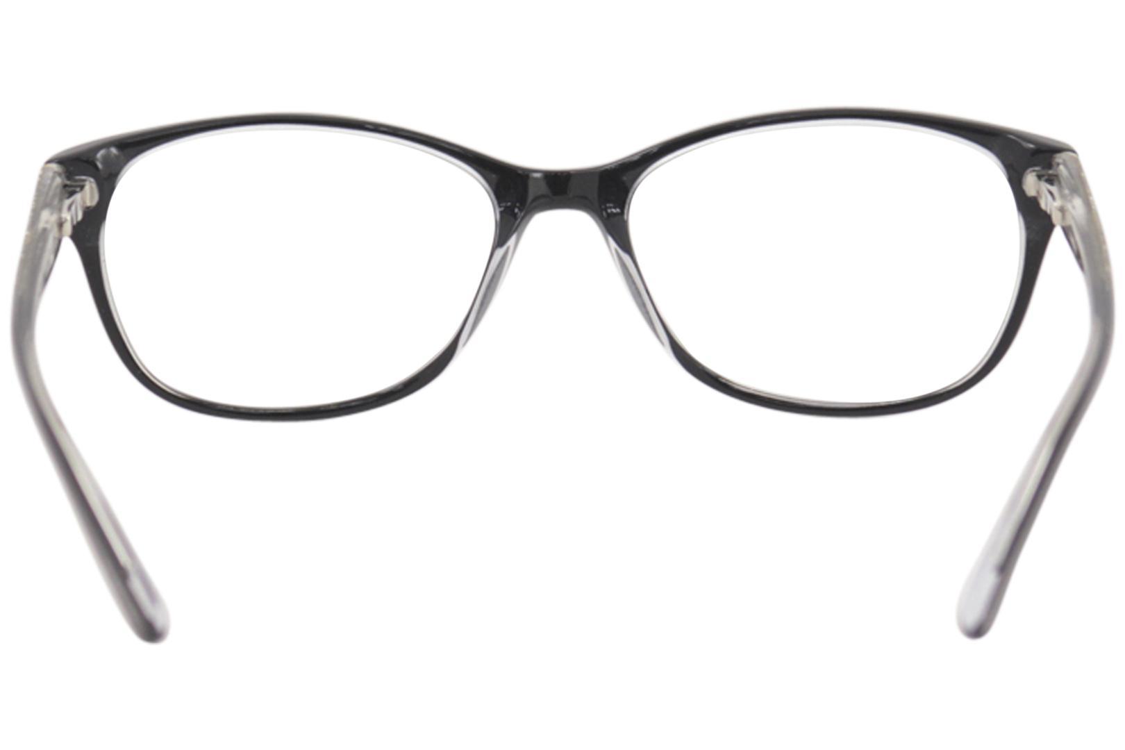 13b82655e3b Bebe Women s Sparkle Eyeglasses BB5123 BB 5123 Full Rim Optical Frame by  Bebe. 12345