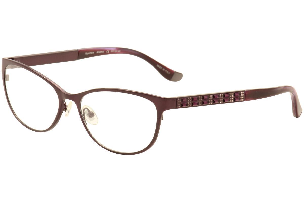 Image of Judith Leiber Couture Women's Hypernova Eyeglasses Full Rim Optical Frame - Purple - Lens 55 Bridge 16 Temple 140mm
