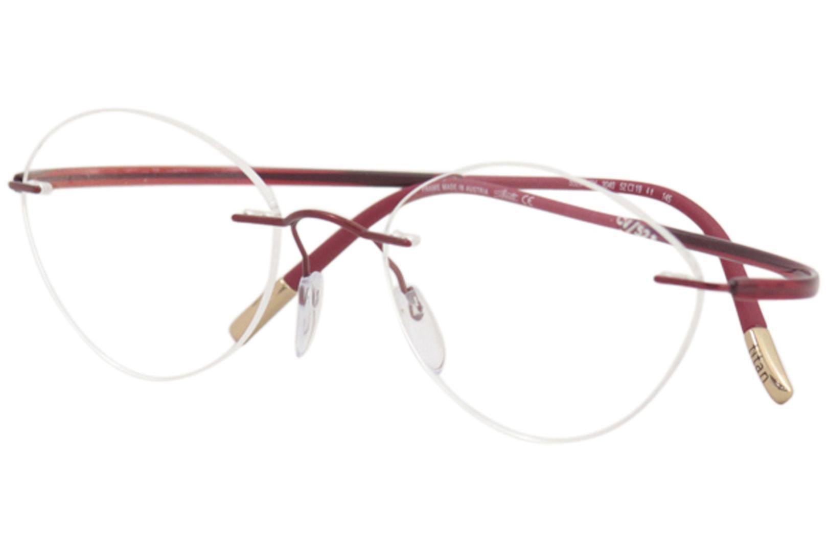 630f3d6dcd04 Silhouette Eyeglasses Essence 5523 Rimless Optical Frame