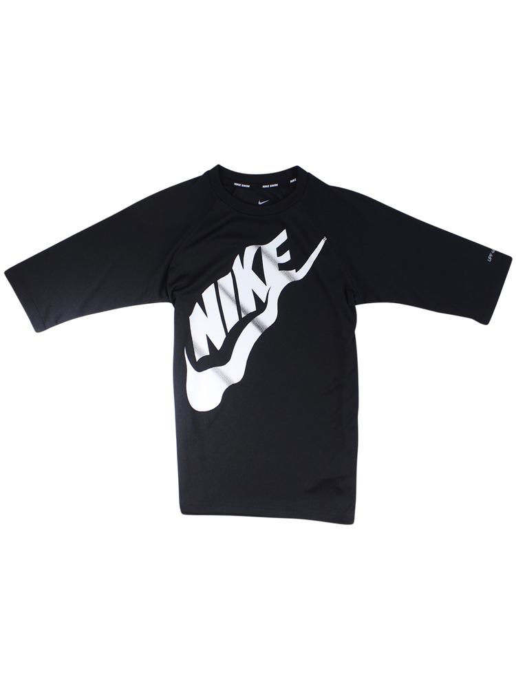 Nike Big Boy's Solid Half Sleeve Hydroguard Shirt Swimwear
