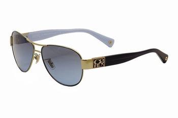 Coach Women s Charity HC7009Q HC 7009Q Aviator Sunglasses Lens-58 Bridge-13 Temple-135mm