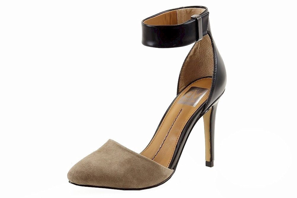 Image of Dolce Vita Women's Odetta Fashion Stiletto Shoes - Beige - 10
