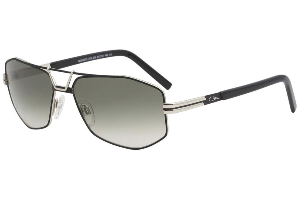 dca14aa457b Cazal Men s 9073 Retro Pilot Sunglasses by Cazal