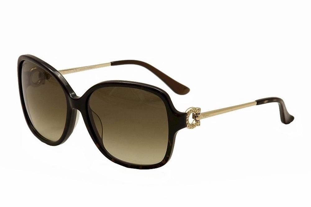 3000e96f6fb84 Salvatore Ferragamo Women s 671SR 671 SR Butterfly Sunglasses