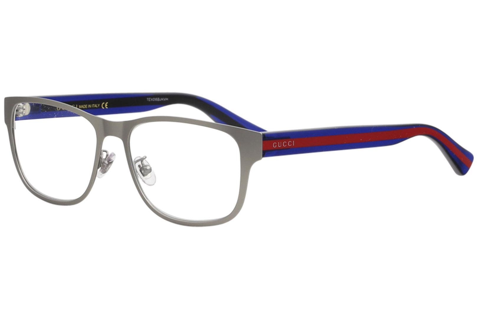 8083bcd72786d Gucci Mens Eyeglasses GG0007O GG   0007   O Full Rim Optical Frame