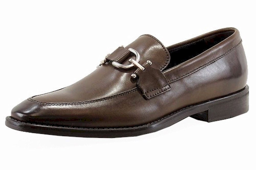 Image of Donald J Pliner Men's Bryc 06 Fashion Loafers Shoes - Brown - 10