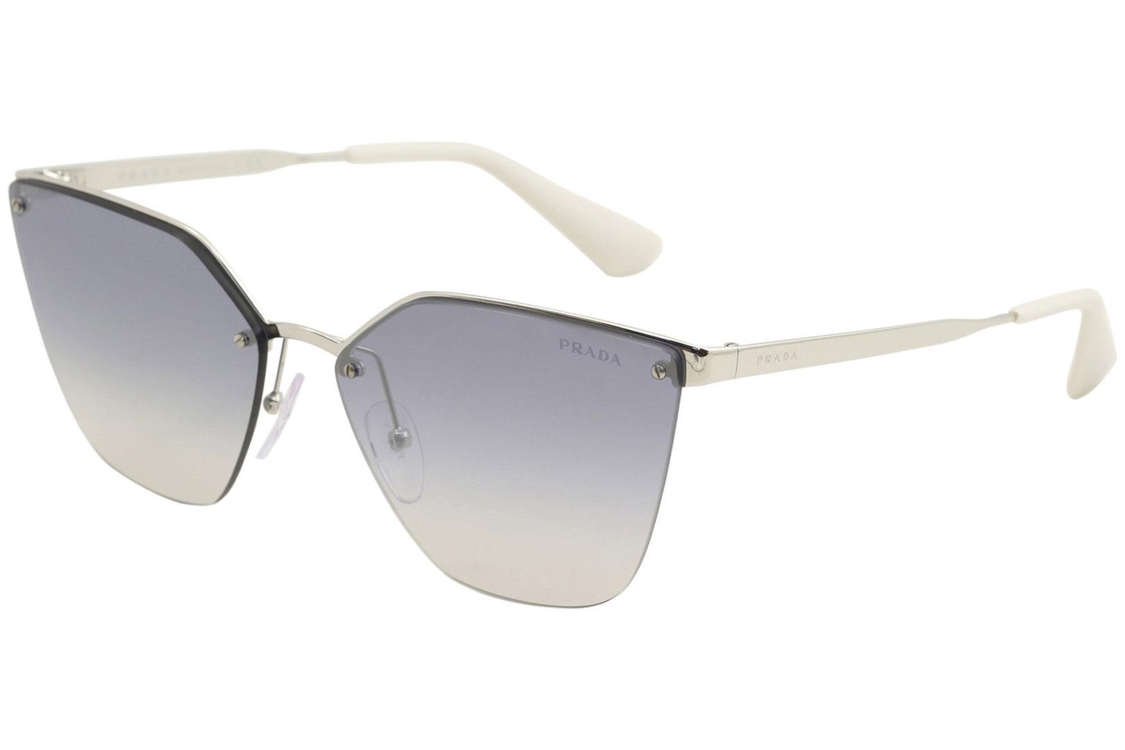 7c64a3877e Prada Women s SPR68T SPR 68T Fashion Cat Eye Sunglasses