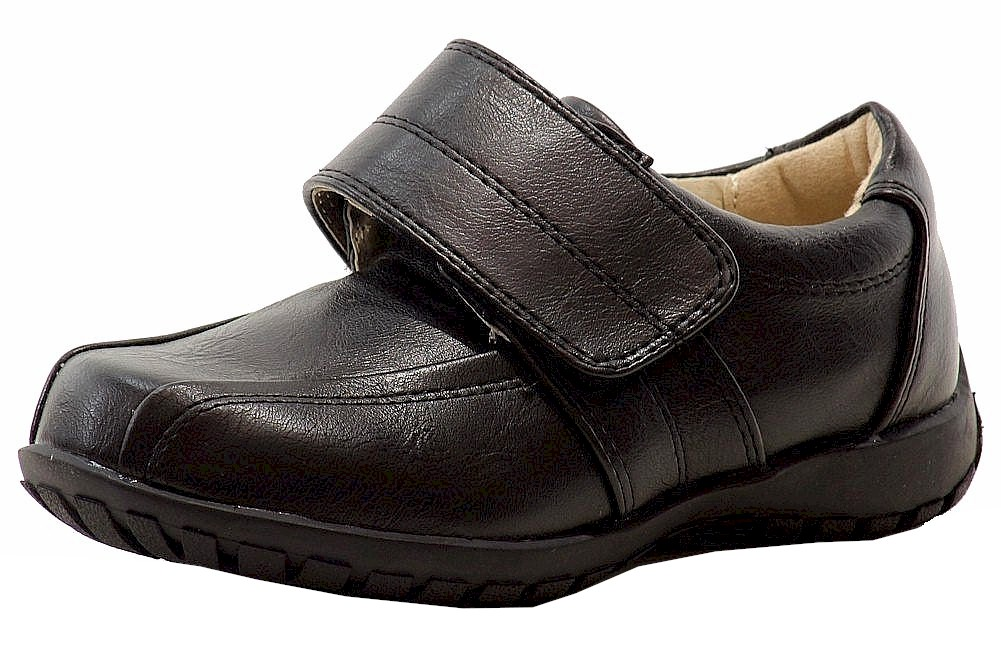 Image of Easy Strider Boy's Classic Fashion Loafer School Uniform Shoes - Black - 12   Little Kid
