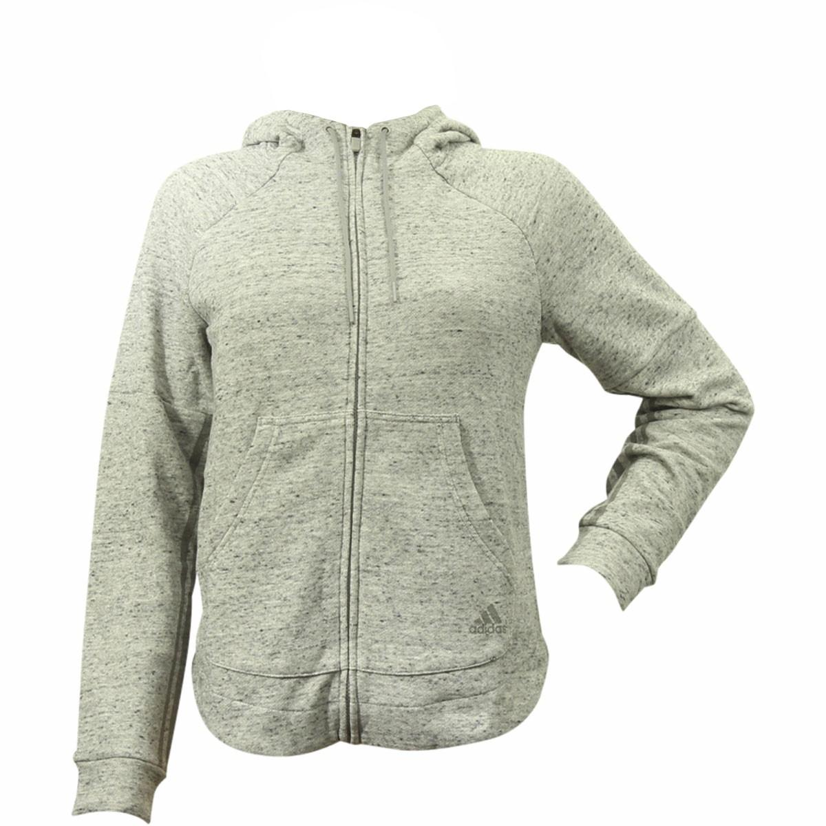 Adidas Women's S2S French Terry Long Sleeve Hoodie Jacket