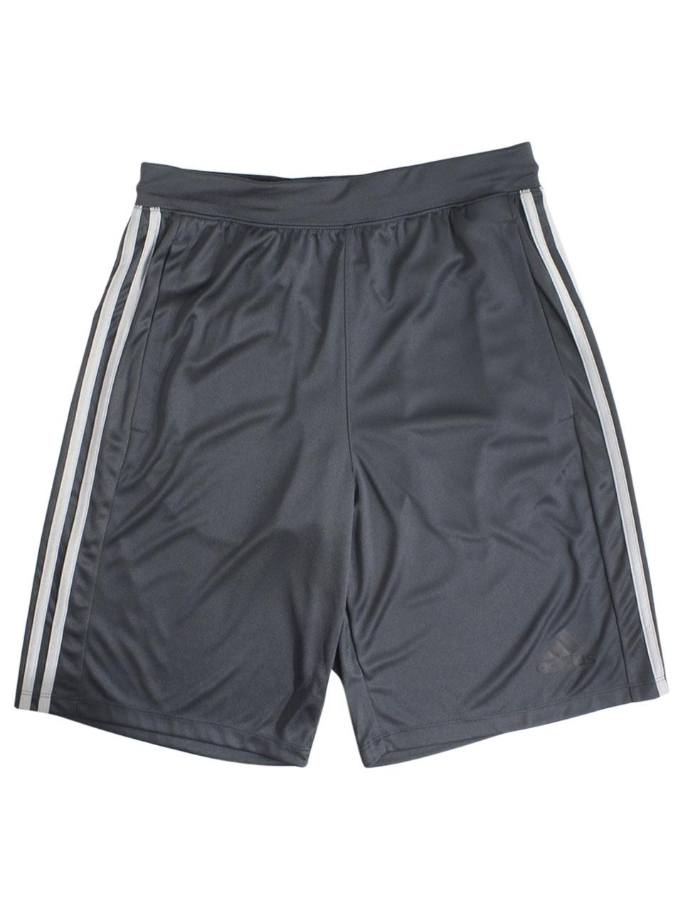 Adidas Men's D2M 3 Stripes Climalite Shorts
