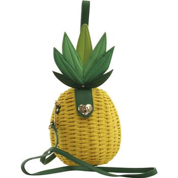 Betsey Johnson Women's Pineapple Crossbody Handbag UPC: