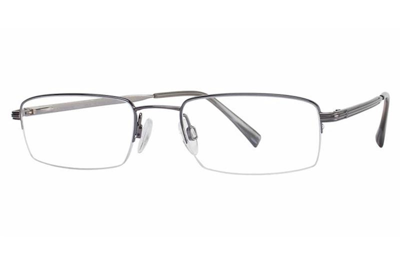 Charmant Men S Eyeglasses Ti8181 Ti 8181 Half Rim Optical Frame