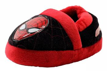 The Amazing Spiderman 2 Toddler Boy's SPF230 Fleece Slippers Shoes