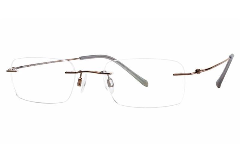 Charmant Men S Eyeglasses Ti8333e Ti 8333e Rimless Optical Frame