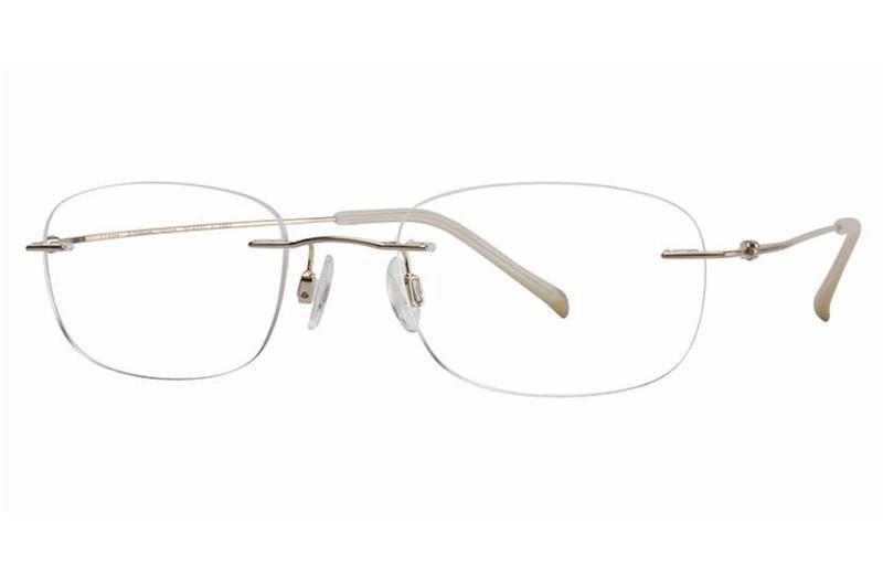 Charmant Men S Eyeglasses Ti8334e Ti 8334e Rimless Optical Frame