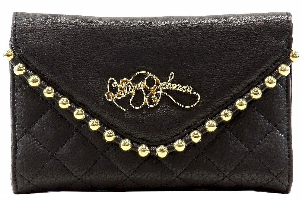 Betsey Johnson Women S Ball Chain Clutch Handbag
