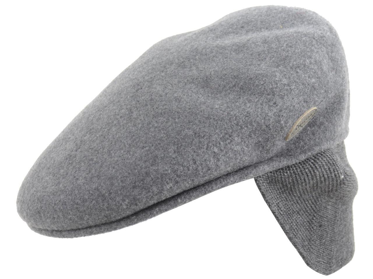 e9930505 Kangol Men's Wool 504 Earlap Flat Cap Hat