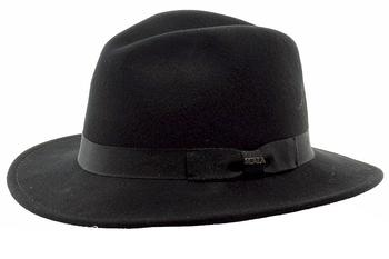 c12b49f14b292 Scala Classico Men s Hyde Park Crushable Wool Safari Hat by Scala