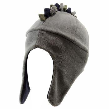 Dorfman Pacific Boy's Fleece Dinosaur Trapper Winter Hat Sz: 4-6X  UPC: