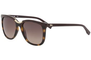 Lacoste Women's L824S L/824/S Fashion Square Sunglasses
