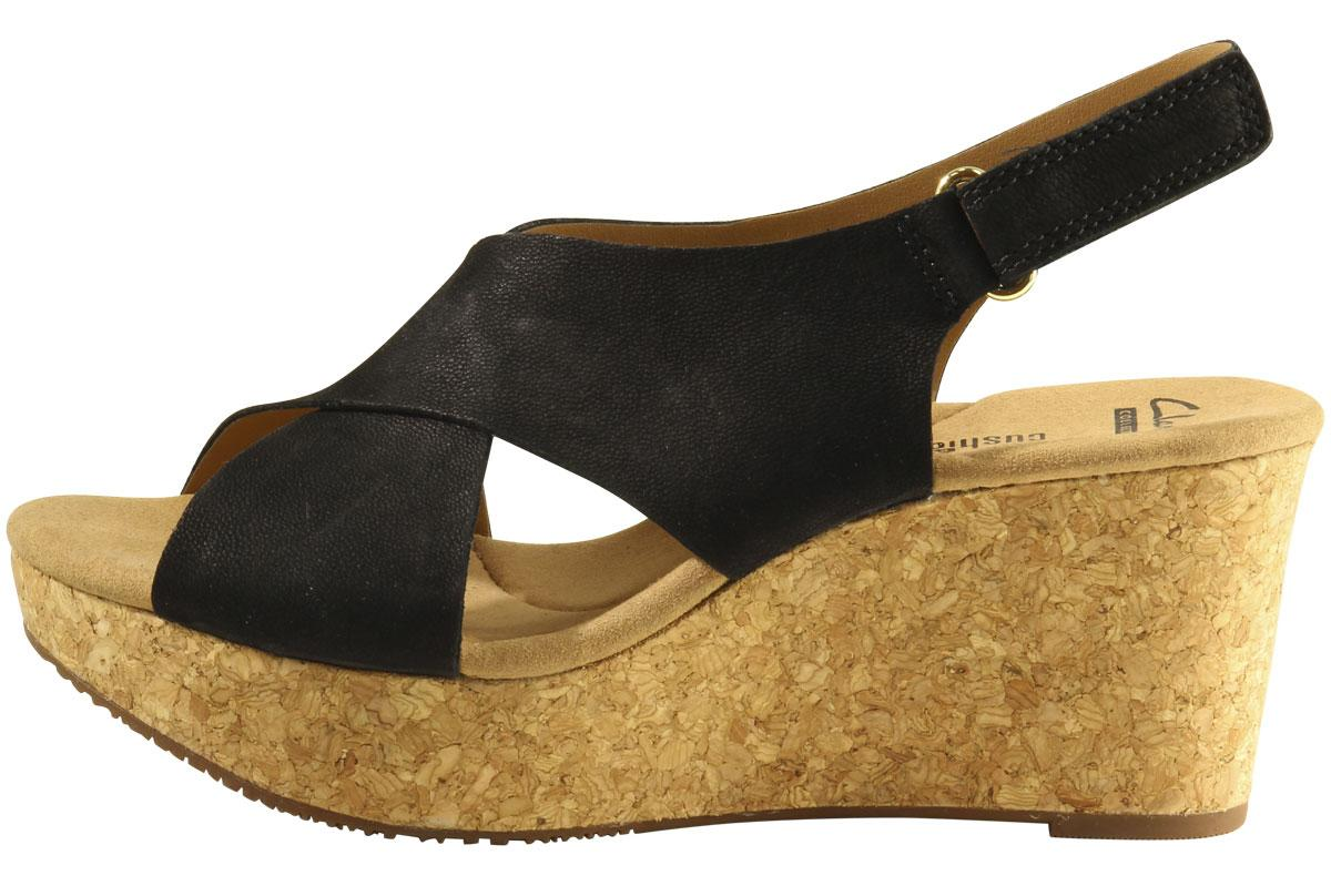 d969510b74d Clarks Women s Annadel Eirwyn Cork Wedge Sandals Shoes
