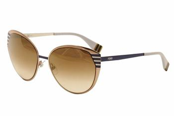 Fendi Women's 0017/S 0017S Cat Eye Sunglasses UPC: