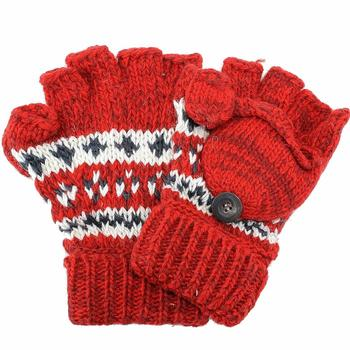 Woolrich Take Me Everywhere Knitted Fairisle Glommit Gloves One Size Fits Most  UPC: