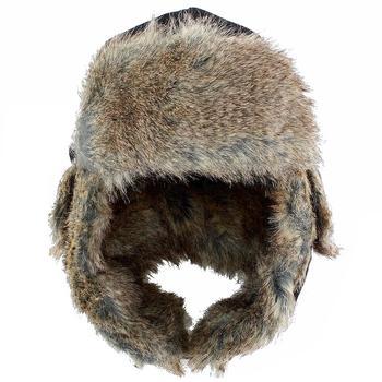 052ac8a49971a Woolrich Men s Faux Fur Plaid Earflaps Trapper Winter Hat