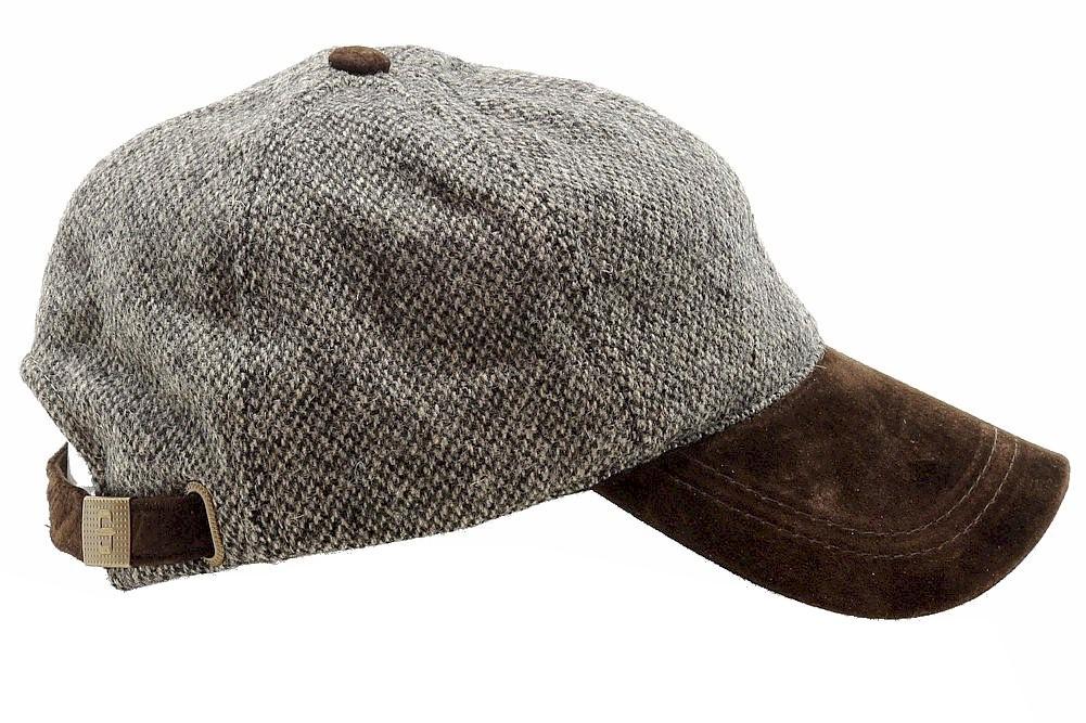 Stetson Men s Suede Peak Wool Adjustable Baseball Hat by Stetson f41683541f9