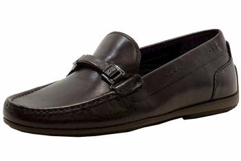 Hugo Boss Men's Flario Leather Fashion Loafers Shoes   UPC:
