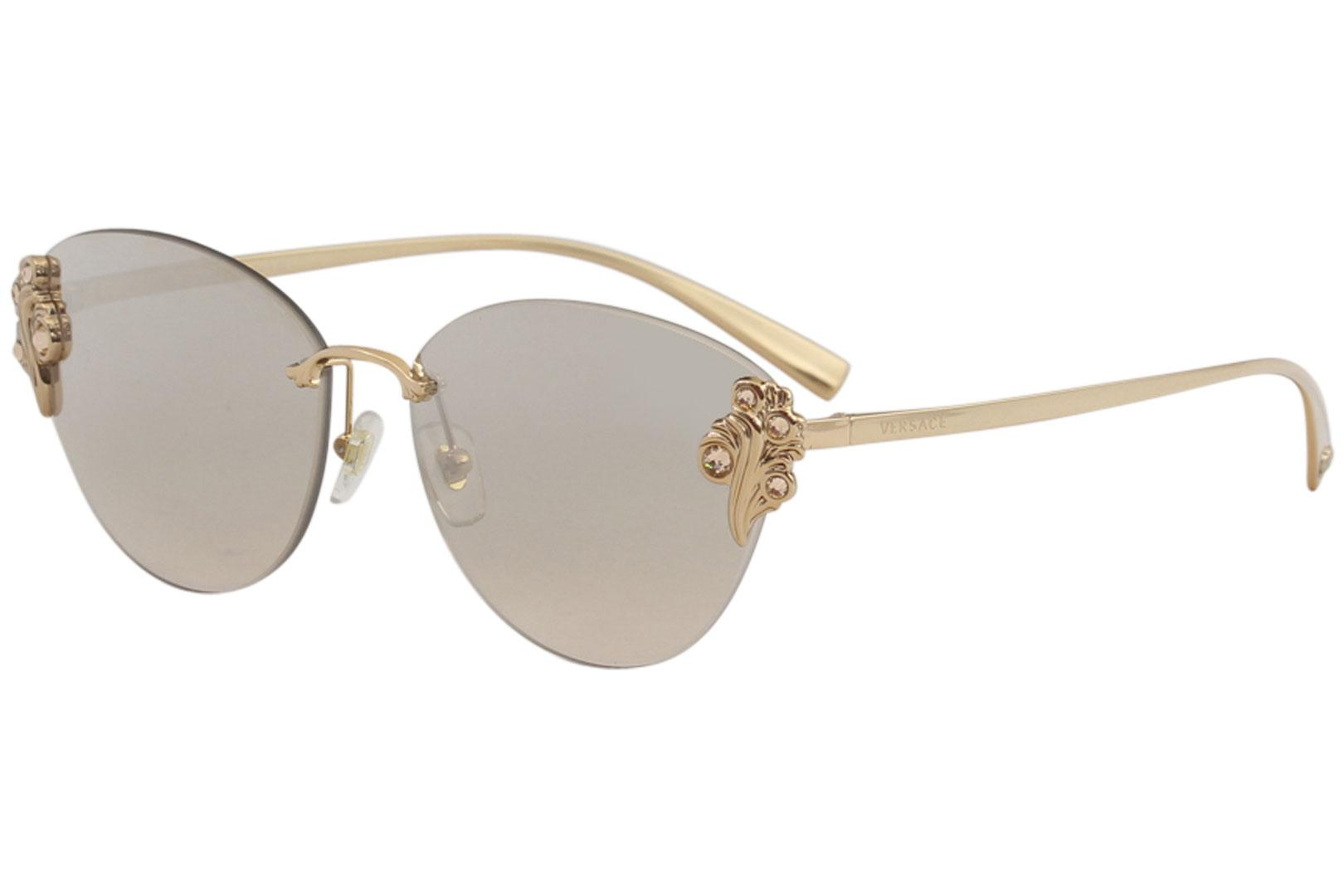 7169492314 Versace Women s VE2196B VE 2196 B Fashion Cat Eye Sunglasses
