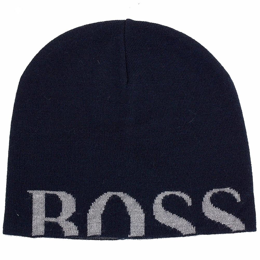 Hugo Boss Men s Knitties Hat Knit Beanie Hat 5f1a4058e9b
