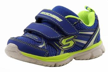 Skechers Boy's Foamies Speedees Burn Outs Memory Foam Sneakers Shoe UPC: