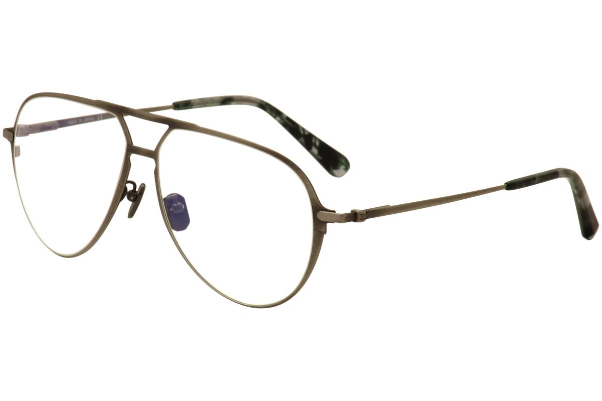 0ad47591e4 Brioni Men s Eyeglasses BR 0011O 0011 O Titanium Full Rim Optical Frame
