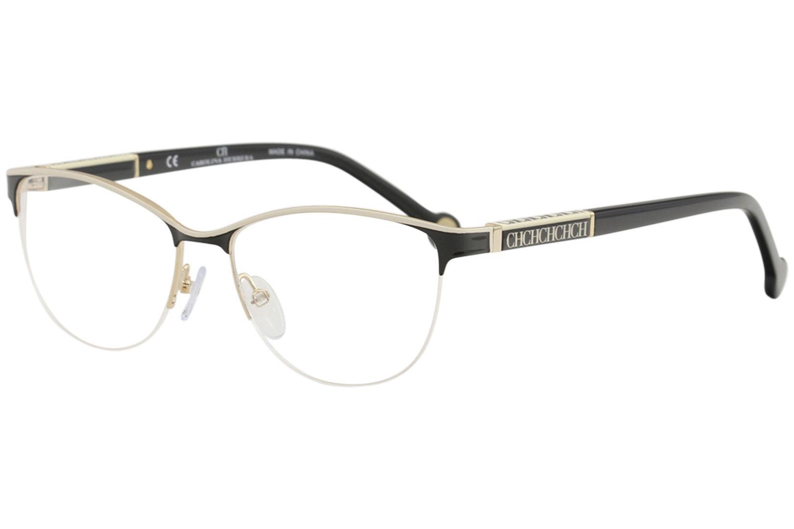 22777f8c18 CH Carolina Herrera Women s Eyeglasses VHE079K VHE 079 K Half Rim Optical  Frame by Carolina Herrera. Touch to zoom