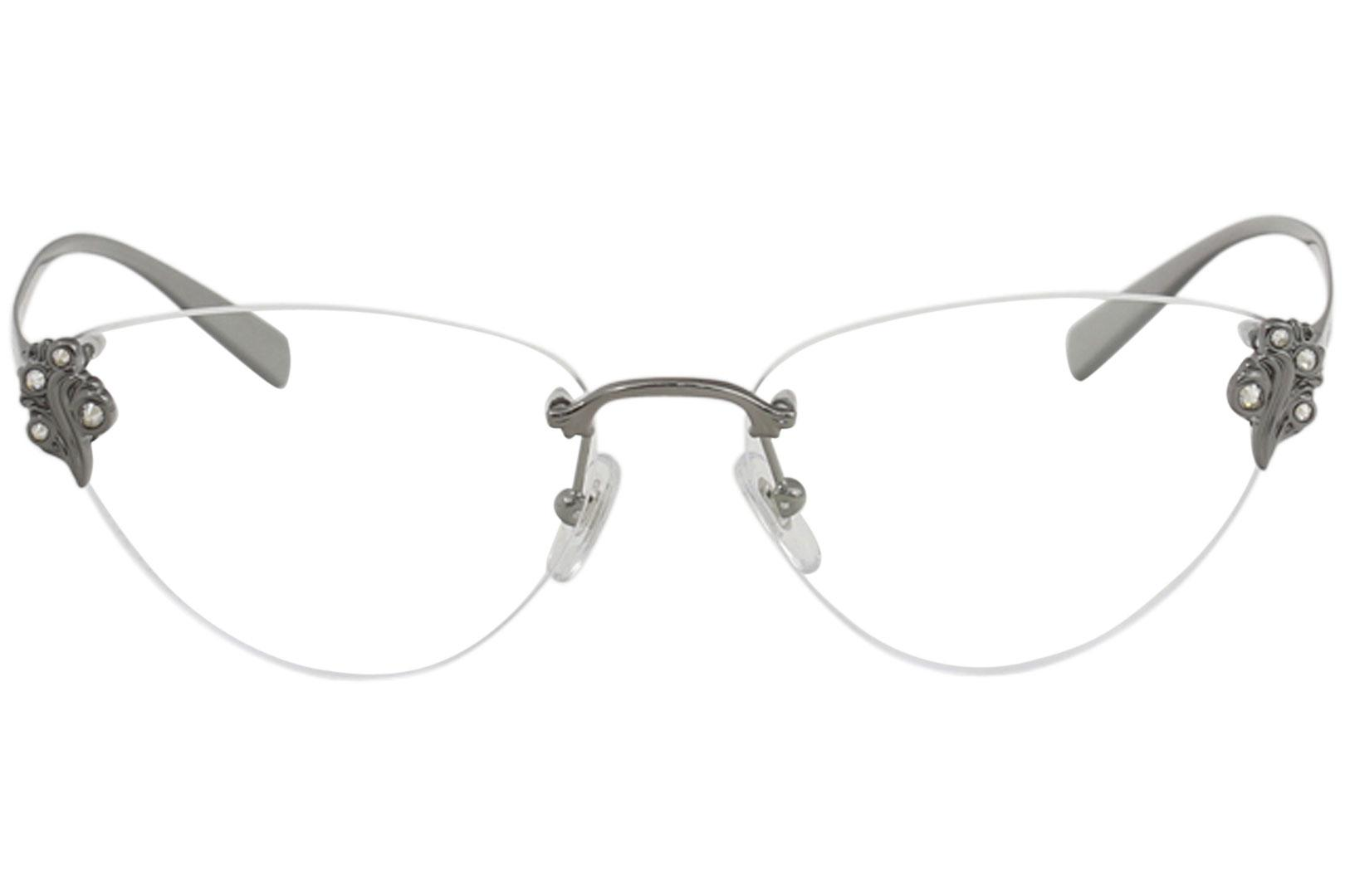 85d54a10167 Versace Women s Eyeglasses VE1254B VE 1254 B Rimless Optical Frame by  Versace