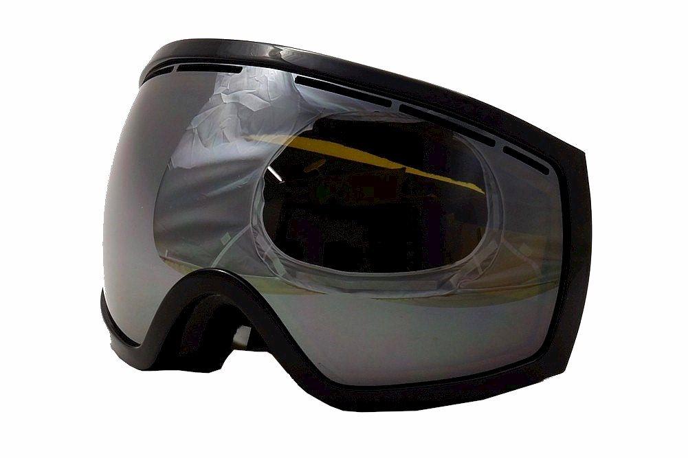 Image of Electric EG2 EG0513 EG/0513 Ergonomic Snow Goggles - Gloss Black/Bronze Silver Chrome