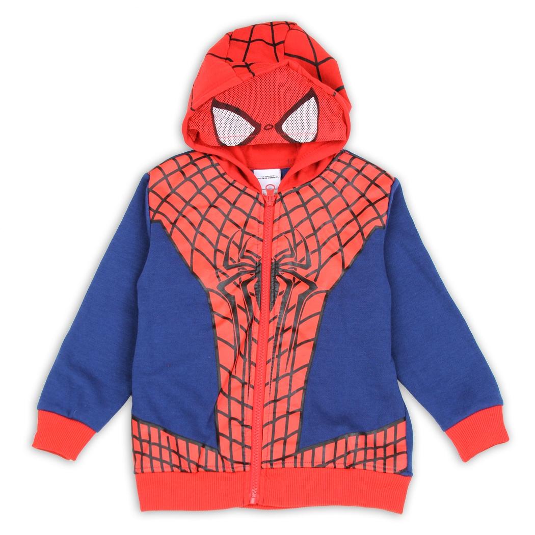 Spiderman Toddler Boy s Spiderman Suit Masked Hoodie