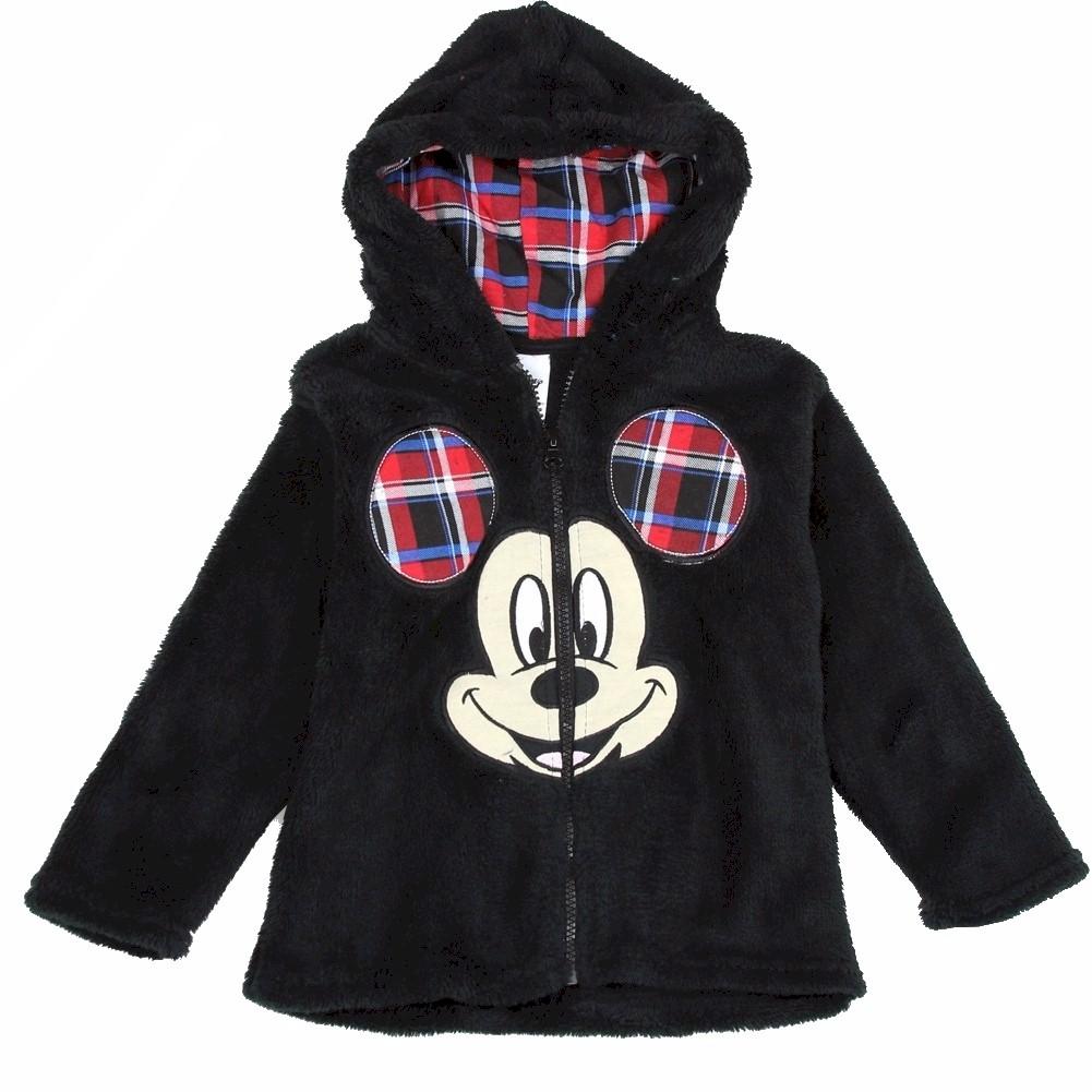 Disney Toddler Boy s Mickey Mouse Velboa Hoodie