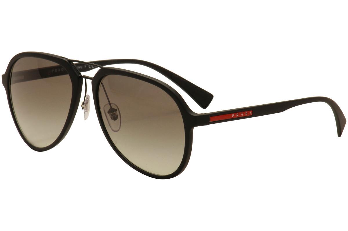 ad077eef53a Prada Linea Rossa Men s SPS05R SP S05R Fashion Pilot Sunglasses