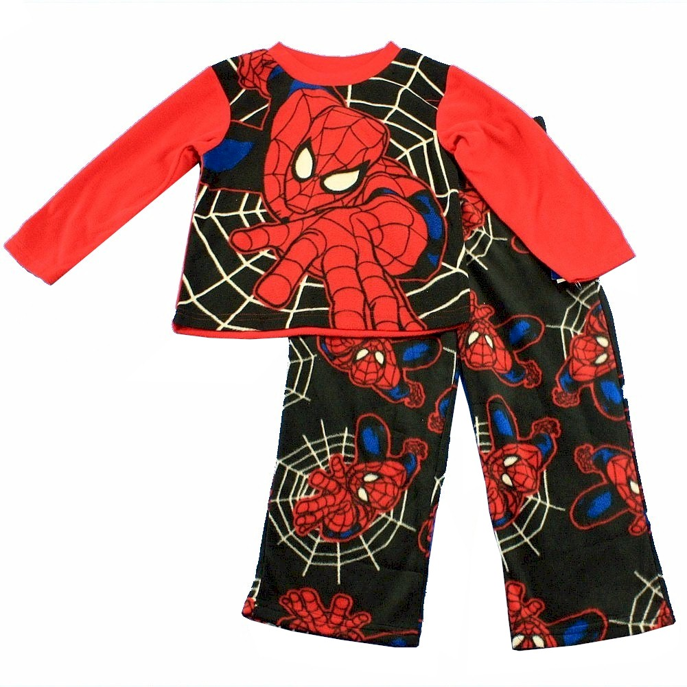 405110938e Marvel Spiderman Boy s Spider-Man Fleece Pajama 2-Piece Set