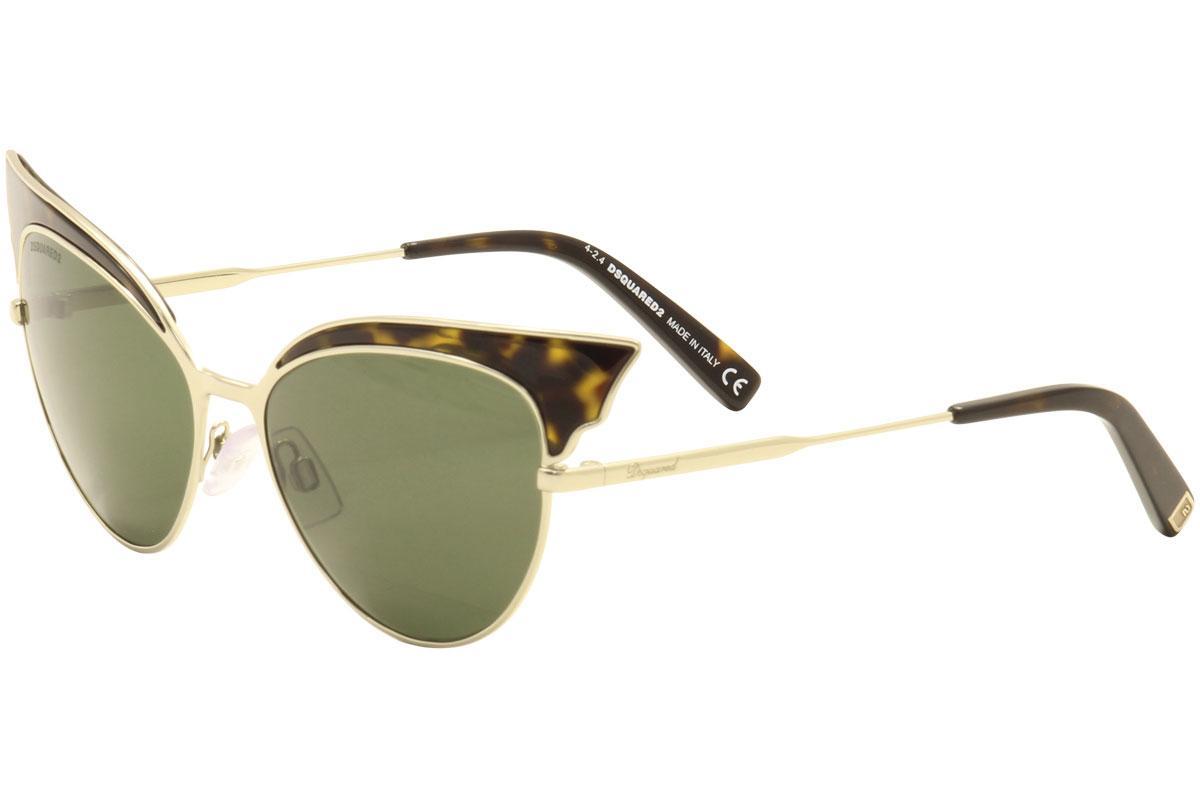 d376a1c9dcc Dsquared2 Women s Lollo DQ166 DQ 166 Cat Eye Fashion Sunglasses