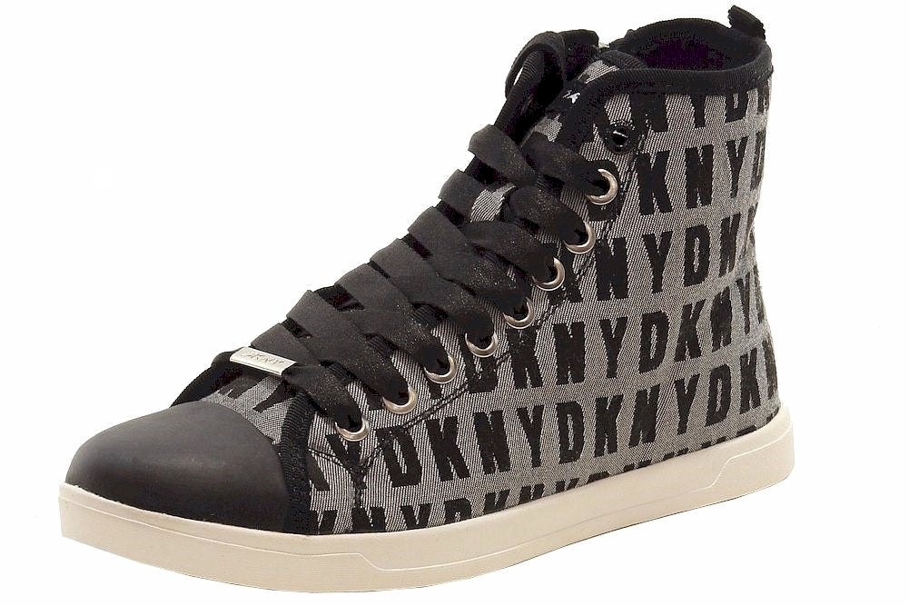 980287383 Donna Karan DKNY Women's Brave Logo Fashion Sneakers Shoes