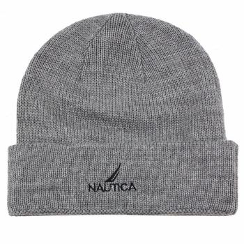 Nautica Boy's Knit Fleece Winter Beanie Hat  UPC: