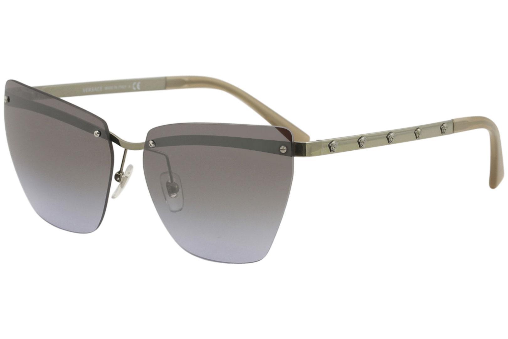 e65f601a67ec Versace Women s VE2190 VE 2190 Fashion Cat Eye Sunglasses